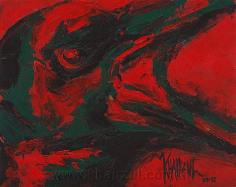 angry birds painting khairzul ghani angry bird animal painting