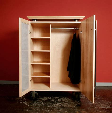 Sauder Kitchen Cabinets by Rolling Wardrobes Contemporary San Francisco By