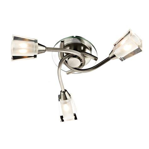 dar lighting aus0346 3 light satin chrome semi