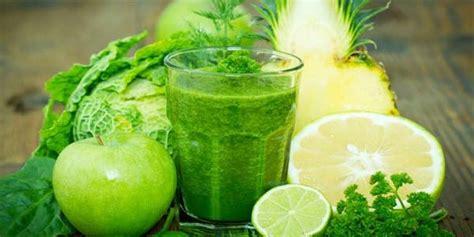 resep jus hijau baik  kesehatan