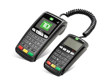 td easyweb mobile td ict250 pos device td canada trust