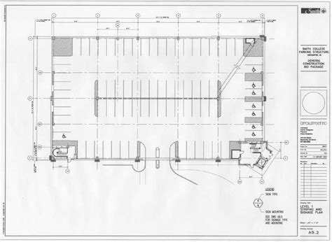 parking garage floor plans garage parking plan house plans home designs