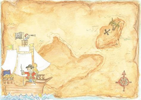 Pirate Treasure Map Invitation Template Treasure Map Invitation Templates Cloudinvitation Com