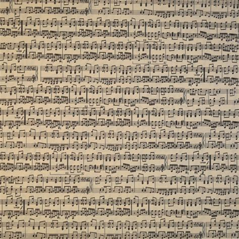 Papier Grafiche Tassotti cartonnage   Papier tassotti motifs partition notes de musique