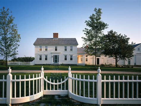 farmhouse restoration farmhouse exterior boston by tms architects