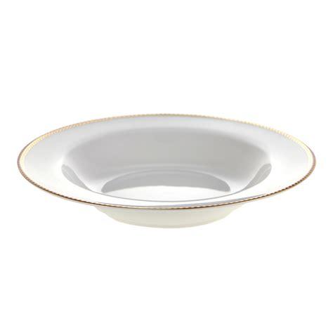 Pip Studio White Soup Plate   21.5cm at Amara