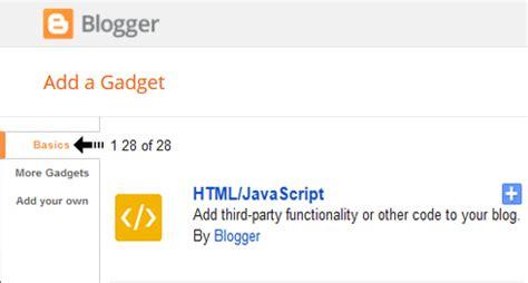 layout add a gadget html javascript text customization inside html javascript gadget in