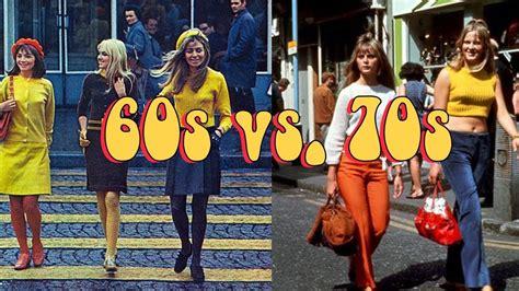 70s style 60s vs 70s style