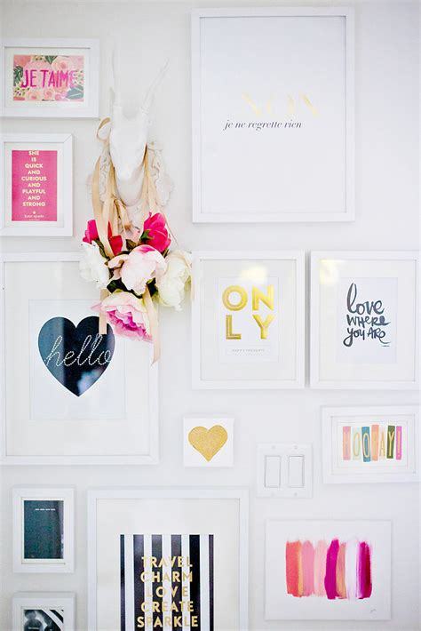 girly home decor popsugar home