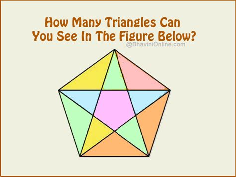 Can You See Them cocktail360 how many triangles can you see in the figure