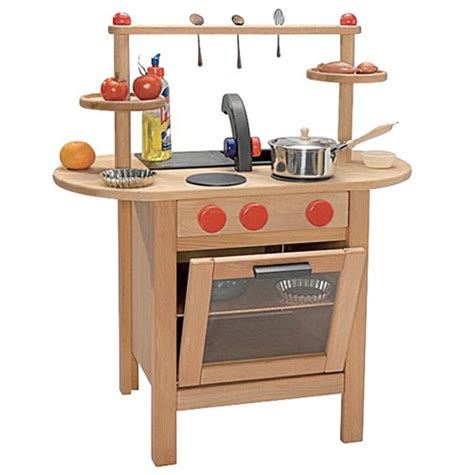 Handmade Wooden Play Kitchen - fagus kitchen fagus germany toys