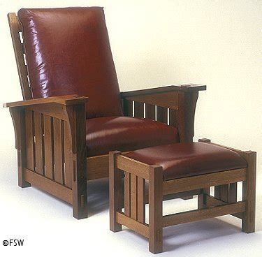 Stickley Leather Recliner by Stickley Recliner 369