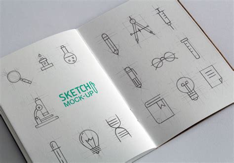 sketchbook mockup free sketchbook free mockup psd templates responsive joomla