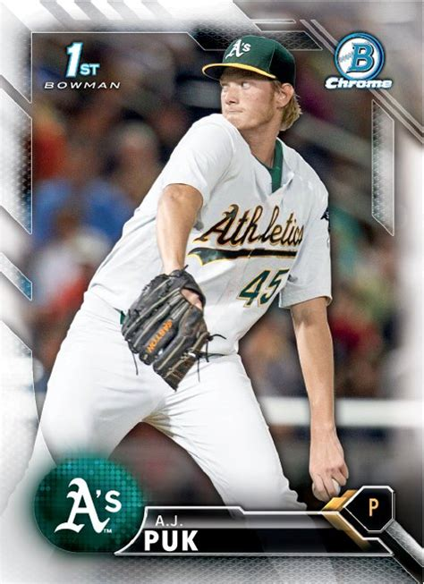 Oakland A S Gift Card - future watch a j puk rookie baseball cards a s