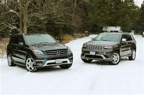 mercedes jeep 2014 comparison test 2014 jeep grand ecodiesel vs