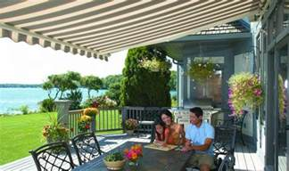 Sunsetter Patio Electric Awning Sunsetter Awnings Weather Armor