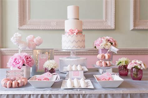 what to put on a dessert table chevron glitter wedding dessert table paperknots