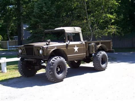jeep kaiser custom kaiser m715 vs dodge m37 international full size