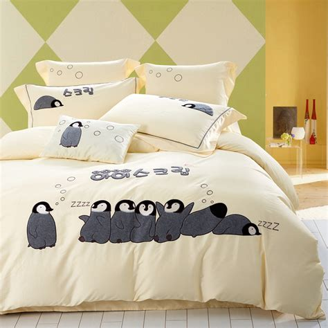penguin comforters online buy wholesale penguin bedding from china penguin
