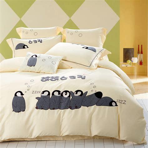 Penguin Bed Set Buy Wholesale Penguin Bedding From China Penguin Bedding Wholesalers Aliexpress