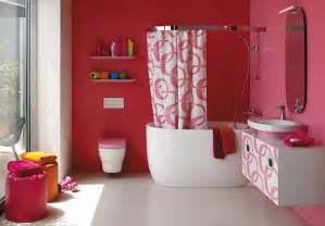bathroom pink wall colours decoration ideas interior