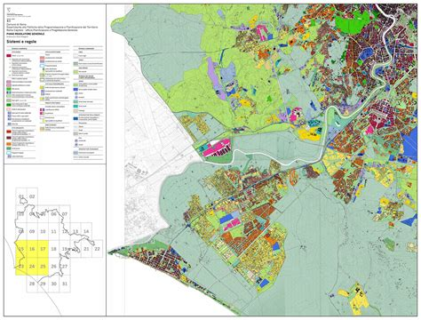 tavole prg cartografia prg roma