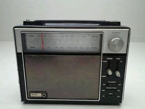 transistor power mobil vintage sears dual power fm am transistor portable radio model no 132 22690300 ebay