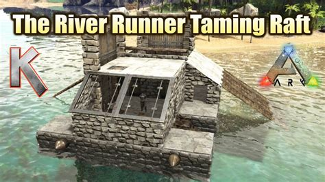 the river an epic epic taming raft mk2 the river runner raft build step by step youtube