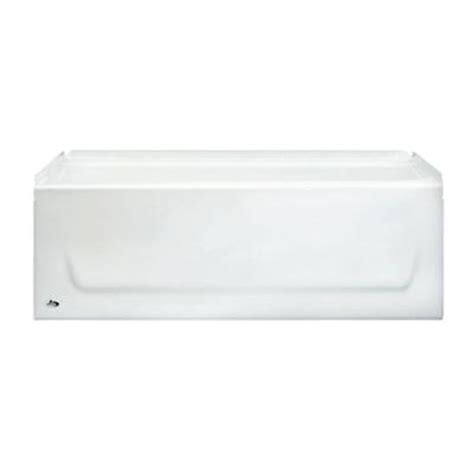 bathtubs 4 feet long bootz industries kona 4 1 2 ft right hand drain soaking