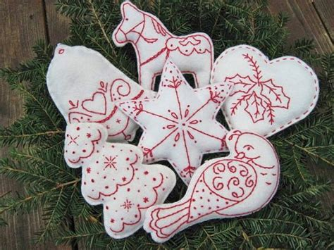 wool christmas ornament and inspiration on pinterest