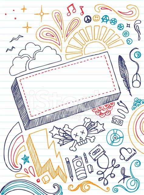 how to doodle in a notebook notebook doodles gallery