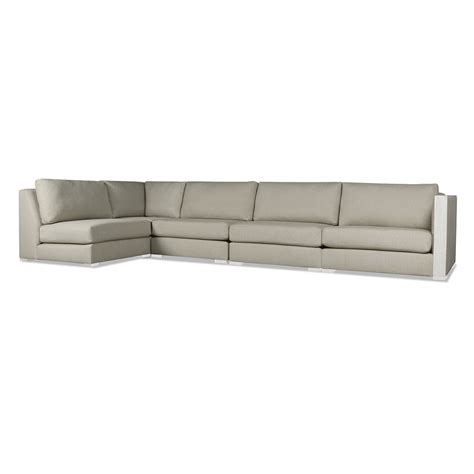 left chaise sectional greenwhich modular left chaise sectional