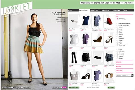 design virtual dress looklet virtual studio for fashion design with designer