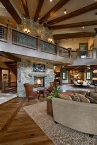 open floor plan mountain home ideas pinterest