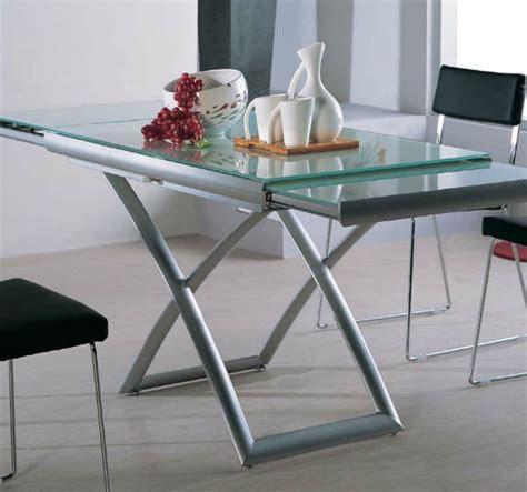 extending glass table murphysofa smart furniture