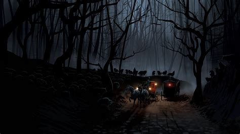 dark village wallpaper dark 4k ultra hd wallpaper and background 3840x2160 id