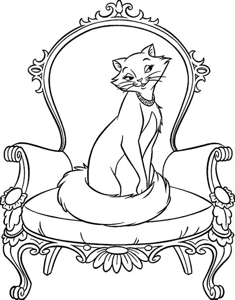 disney coloring pages aristocats disney coloring pages