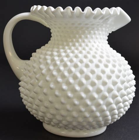 vintage white hobnail milk glass l fenton glass deals on 1001 blocks