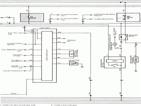 wiring diagram for toyota tacoma power windows and door