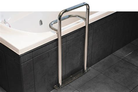 Stainless Steel Bath Safety Grab Rail Superquip Bathroom Shower Rails