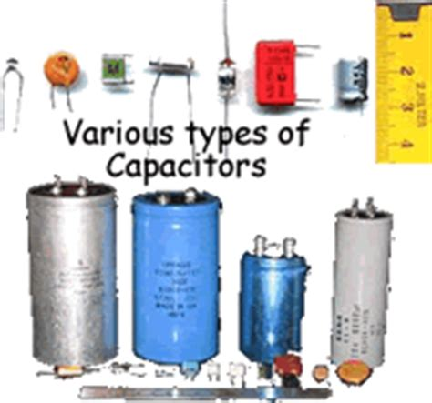 capacitor or condenser capacitors