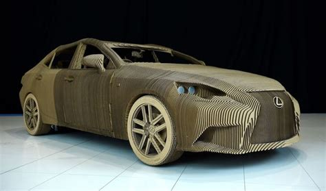 3d Origami Car - lexus unveils world s origami car crafted using