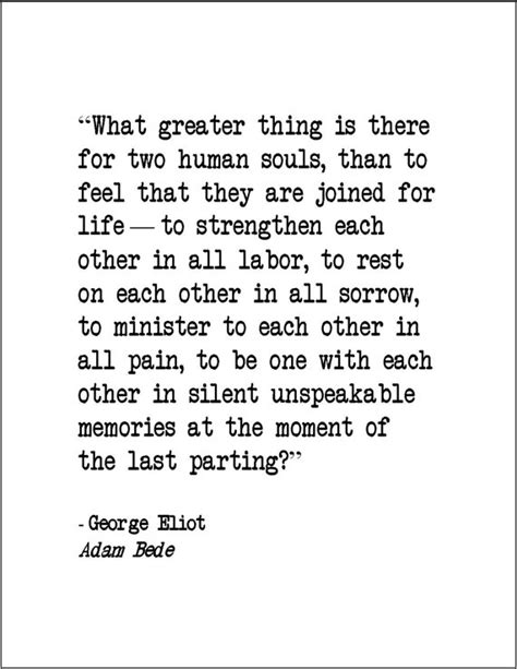Picture George Eliot Quote About - items similar to george eliot adam bede quote