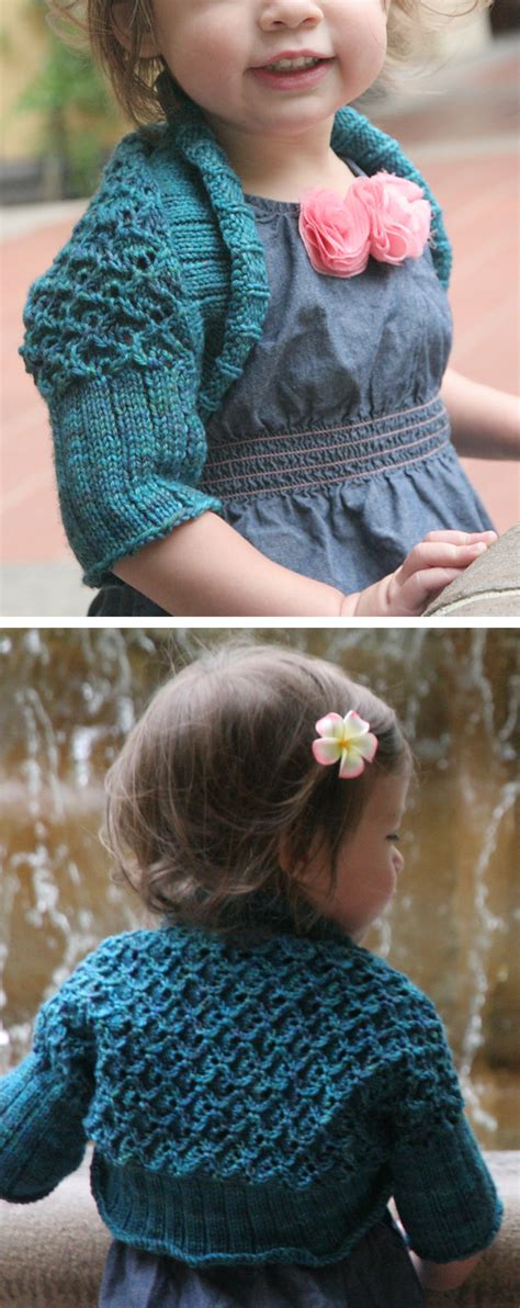 baby shrug knitting pattern free one shrugs and boleros knitting patterns in the