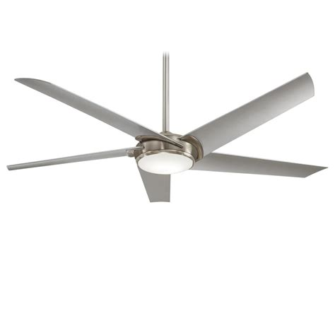60 inch ceiling fans minka aire f617l bn raptor 1 led light 60 inch ceiling fan