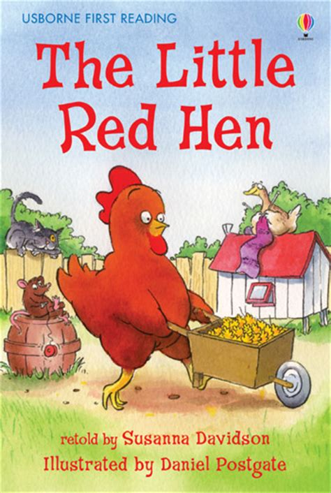 libro the little red hen the little red hen at usborne children s books