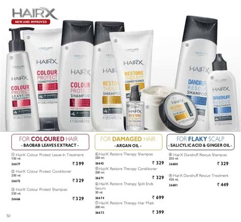 26642 Hairx Restore Therapy Shoo oriflame february 2015 catalogue