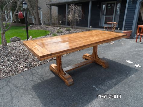 build plans make your own dining table plans wooden oak
