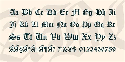 canterbury font 183 1001 fonts