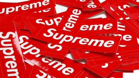supreme stickers how to get authentic supreme stickers for 5